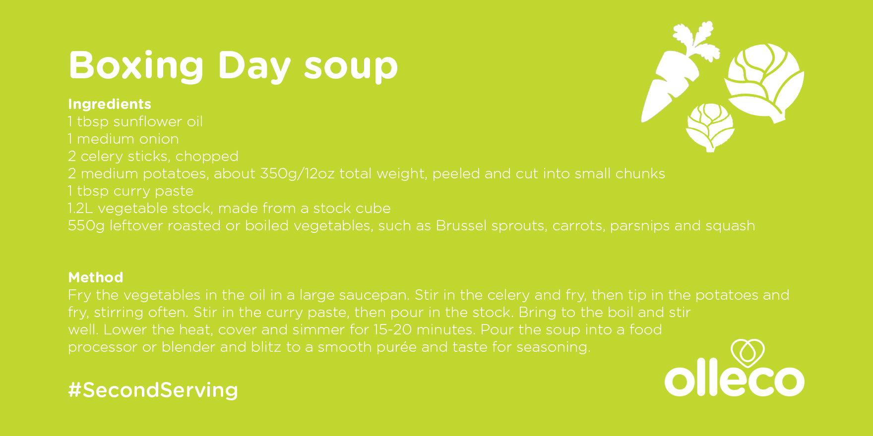 Boxing Day soup recipe