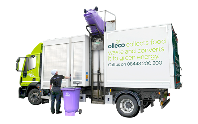 Olleco food waste van